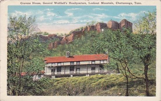 Cravens House General Walthalls Headquarters Lookout Mountain Chattanooga Ten...
