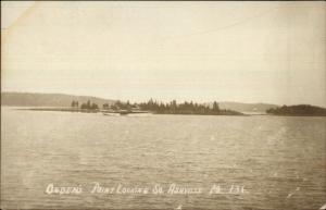 South Ashville ME Ogden's Point c1915 Real Photo Postcard