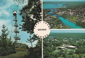 PARRY SOUND, Ontario, Canada, 1950-1960's; Tower Hill And Gardens, Belvedere ...