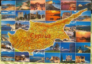 Cyprus Map and Multi-view - posted