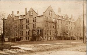 Alma Michigan~Alma College~Wright Hall~Girls Dormitory~c1908 Real Photo~RPPC