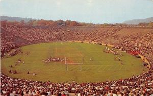 New Haven Connecticut~Yale Bowl Stadium~Football Game~Fans in Stands~1960s PC