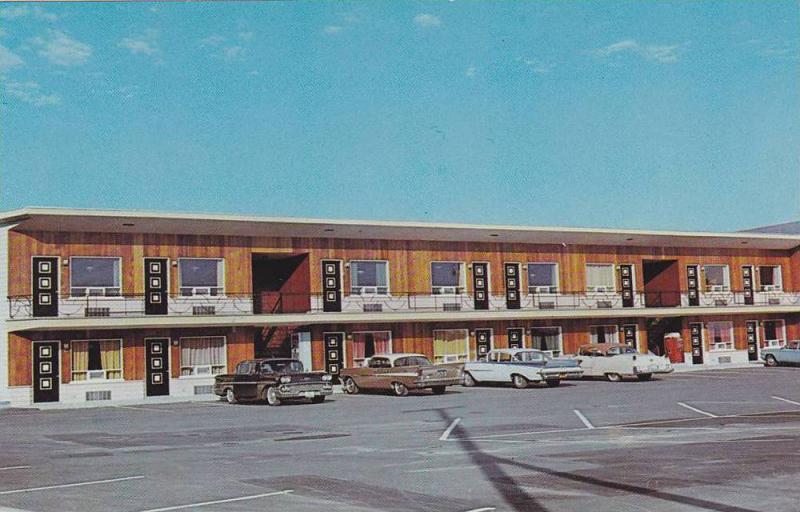 Motel & Hotel Carillon & Restaurant, St. Foy, Quebec, Canada, 40-60s