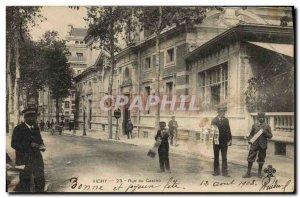Old Postcard Postcards Vichy Street Casino Dealers