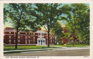 Illinois Bloomington Menonite Hospital Curteich