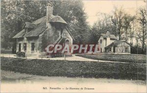 243 Old Post Card Versailles the hamlet of Trianon