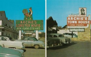ROANOKE , Virginia, 1950-60s ; Archie's Lobster House/Town House