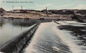 Black Eagle Dam, GREAT FALLS, Montana, PU-1911
