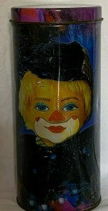 RED CLOWN IN A TIN (rmc)