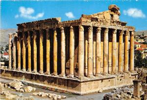 B52643 Lebanon Baalbeck The Temple of Bacchus