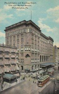 PHILADELPHIA, PA, 1913; Philadelphia and Reading Depot, 12th and Market Sts.