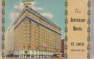 ST. LOUIS , Missouri , 30-40s ; Jefferson Hotel