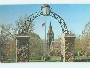 Unused Pre-1980 FLAGPOLE AT LEHIGH UNIVERSITY Bethlehem Pennsylvania PA L6588