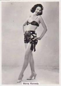 Phillips Vintage Cigarette Card Beauties Of To-Day 1939 7th Series No 11 Mern...