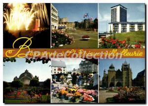 Postcard Modern SAINT-BRIEUC flowery city