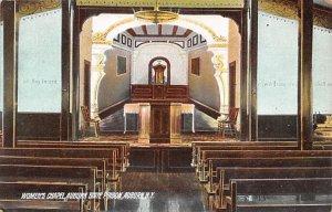 Women's Chapel, Auburn State Prison Auburn, New York, USA Unused