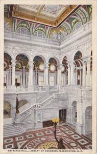 Washington D C Library Of Congress Entrance Hall