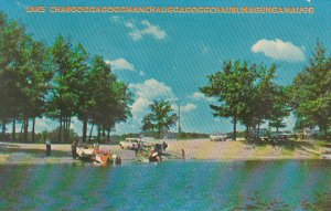 Lake Charoggagoggmanchauggagog gchaubunagungamaugg Webster Massachusetts 1965