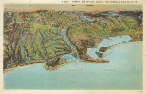 San Diego , California , Map , 1900-10s