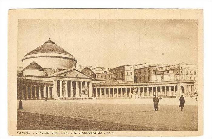 Naples , ITALY , 00-10s : Piazzale Plebiscito