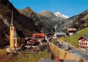 Heiligenblut Wallfahrtsort am Fusse des Grossglockner Kirche, Chruch Road Cars