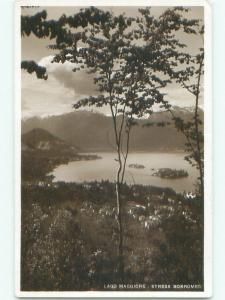 old rppc NICE VIEW Stresa On Lake Maggiore Italy i3157