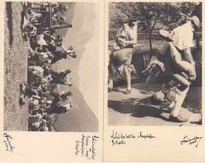Tirol Austria WILD Crazy Dancing Dance Postcard s