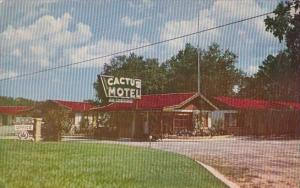 Cactus Motel Tallahassee Florida 1970