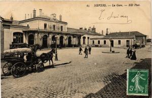 CPA NEVERS - La Gare (420789)