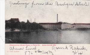 GRAND RAPIDS , Wisconsin , PU-1907 ; Consolidated Water Power & Paper Comapny