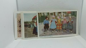 7 x Beautiful Vintage Postcards of Dutch Children in National Dress Job Lot Buy