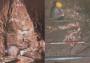 Brecon Swansea Tunnel Cave Mine Mines Dan Yr Ogof 2x Welsh Wales Postcard