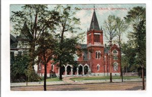 SPARTANBURG, South Carolina, PU-1907; First Presbyterian Church