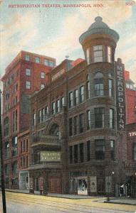 Minneapolis~Actress Alberta Gallatin of Lesage WV @ Metropolitan Theatre~1909 PC