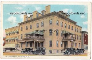 The Jefferson Hotel, Watkins NY