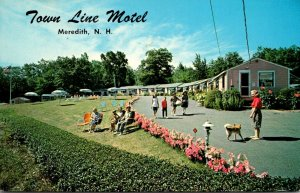 New Hampshire Meredith Town Line Motel