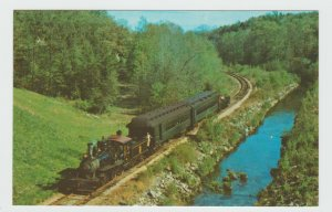 Connecticut The Valley Railroad Essex Steam Train Postcard
