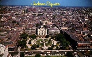 LA - New Orleans. Jackson Square & City View