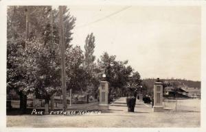 RP  Park Entrance, Kelowina, British Columbia, Canada, PU-1945