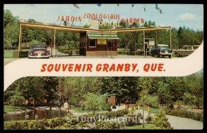 Souvenir Granby, Quebec - Le Jardin Zoologique