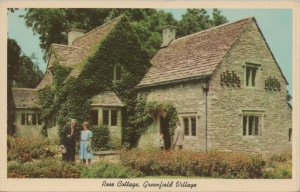 Rose Cottage Greenfield Village Dearborn Michigan Vintage Postcard