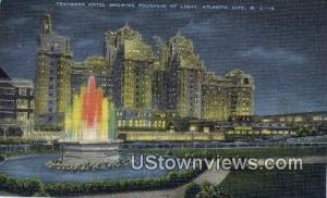 Traymore Hotel Atlantic City NJ Unused