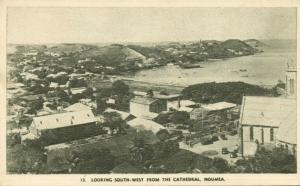 new caledonia, NOUMEA, Looking South-West from the Cathedral (1930s)