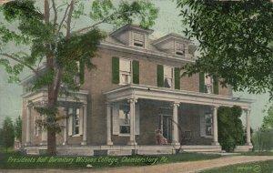CHAMBERSBURG , Pennsylvania , 1910 ; Presidents Hall Dormitory, Woman's College