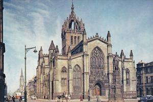 Scotland Edinburgh St Giles Cathedral