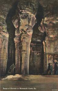 Postcard Ruins of Karnak Mammoth Cave Kentucky