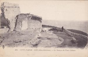La Terrasse Du Vieux Chateau, EZE (Alpes Maritimes), France, 1900-1910s