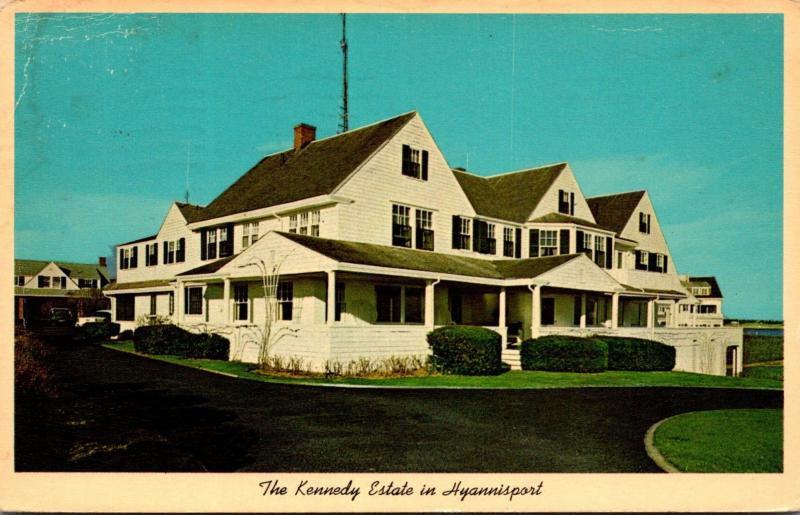 Massachusetts Cape Cod Hyannisport The Kennedy Estate 1965