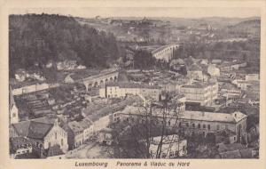 LUXEMBOURG, 1900-1910´s; Panorama & Viaduc Du Nord