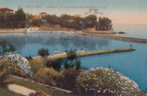 BEAULIEU SUR MER, Alpes Maritimes, France, 1900-1910s; Le Port Et La Pointe D...